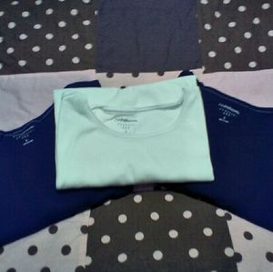 Lot of 3 Croft and Barrow essential tees